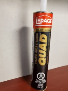 LePage Quad Window, Door & Siding Sealant Black - 295mL