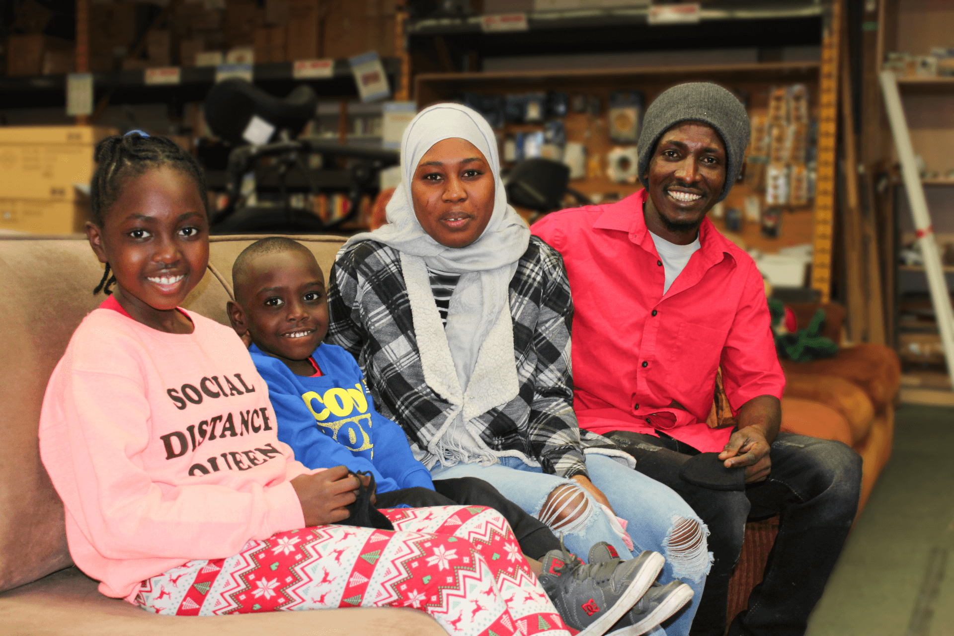 Family Photo at ReStore
